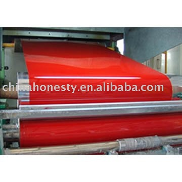 Color - coated aluminum coil