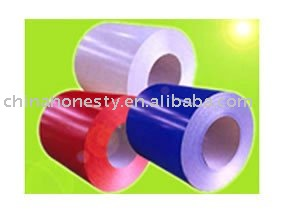 Color-coated coil
